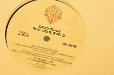 "Rare David Bowie Real Cool World 4 Track 12"" 33Rpm Extended Play MINT"