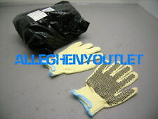 2 Pair Womens Boys 100% Kevlar Cut Resisant PVC Dot Grooming Kitchen Gloves NEW