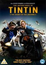 The Adventures Of Tintin : Secret Of The Unicorn (DVD / Steven Spielberg 2012)