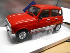 "RENAULT 4 GTL "" Clan "" Sondermodell 1992 red rot Facelift NEU NEW Solido 1:18"