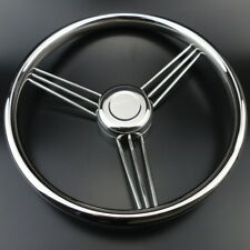 9 Spoke 304 Stainless Steel Marine Boat Steering Wheel 13-1/2'' New Arrival