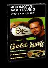 Automotive Gold Leafing with Gary Jenson Pinstriping Paint Airbrush Action DVD