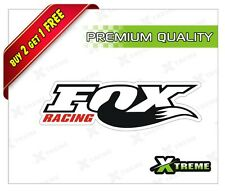 XTREME-in FOX RACING REFLECTIVE STICKER FOR CAR, BIKE, DOOR,GLOSS (5 inch)