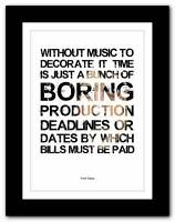 ❤ FRANK ZAPPA ❤ song lyrics/quote typography poster art print - A1 A2 A3 A4 #14