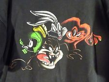 Six Flags LOONEY TUNES Bugs Bunny Taz Marvin Martian 1999 Mens T-Shirt Size 2XL
