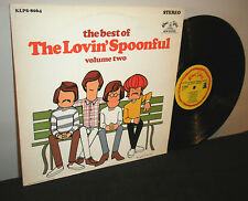 The Lovin' Spoonful ‎– The Best Of Volume Two Condition (LP/Sleeve): EX/EX
