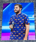 ANDREA FAUSTINI - X FACTOR - -10x8 PHOTO SIGNED