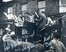 JOHN LENNON and his QUARRYMEN PLAYING LIVE in 1957 - HAND SIGNED PHOTO.