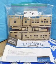 BACHMANN SILVER SERIES PLASTICVILLE RURAL STATION #45521 HO SCALE MODEL KIT-6E#B