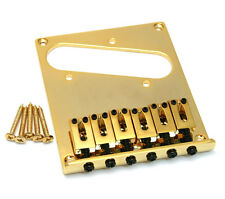 Gold Economy Modern High Mass Bridge for Fender Telecaster/Tele® GB-TEC-G
