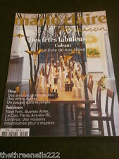 FRENCH MARIE CLAIRE MAISON - FABULOUS CHRISTMAS GIFTS - DEC 2012