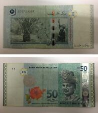 Malaysia RM $ 50 RM50 Ringgit Dollars 2009 Replacement Banknote #ZC P 50