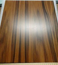"Rosewood (Santos) prefinished 1/4""  x 9"" x 10"" MDF board with Okuome wood back"