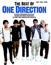 Best Of One Direction Play What Makes You Beautiful Piano Guitar PVG Music Book