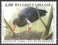 Belgium 2005 Stamp Day/Black Stork/Birds/Nature/Conservation/Wildlife 1v n32711