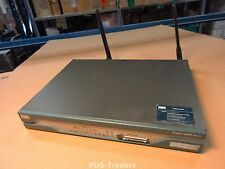Cisco 1812W Wireless Integrated Services 8x 10/100 LAN Router INCL 2X ANTENNA