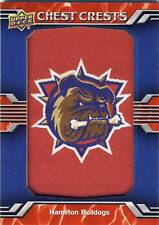 2014-15 Upper Deck AHL HAMILTON BULLDOGS Alternate Logo Patch #38 Canadiens
