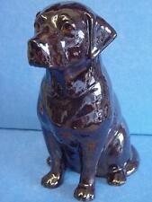 QUAIL CERAMIC CHOCOLATE LABRADOR RETRIEVER GUN DOG MONEYBOX MONEY BOX PIGGY BANK