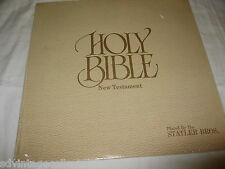 Holy Bible New Testament Stater Bros 1985 Jesus SEALED Record LP