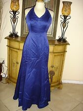Purple Halter Top Designer Prom/Party/Drag/Formal Sparkly Dress Low Price 9/10