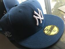 New Era Eric Manuel Fitted Hat Size 7 3/8 New York Yankees Waxed Supreme Limited
