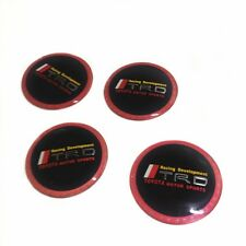 for Toyota 65mm TRD wheel center cover emblem sticker badge cap hub steering
