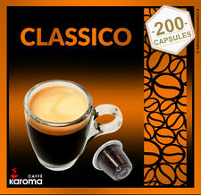 200 Nespresso Capsules Compatible Pods.Napoletano Strong Blend! OVERSTOCK SALE!