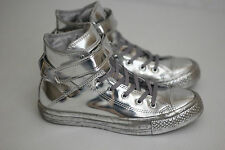 NEW Converse Chuck Taylor All Star Brea HI Top Metallic Chrome Silver 6US (Y66)