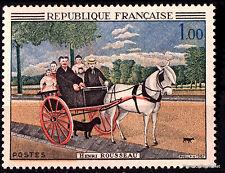Timbre neuf de 1966 Yt 1517 Douanier Henri Rousseau la carriole du père Juniet