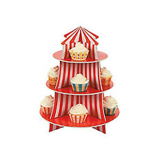 CARNIVAL CIRCUS BIG TOP TENT TABLE DECORATION CUPCAKE HOLDER THEMED BIRTHDAY