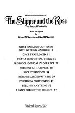 Selections From The Slipper And The Rose Play Piano Vocal & Guitar Music Book