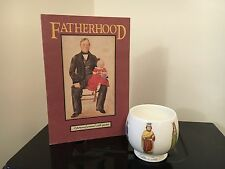 "Noritake' FATHER""S DAY' 1974 Bone China 1 of 2,500 & Fatherhood Journal W/Quotes"