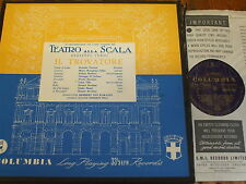 33CXS 1483 33CX 1484-5 Verdi Il Trovatore / Callas etc. B/G 3 LP box