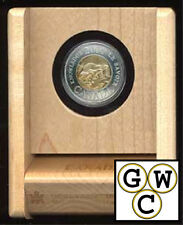 2000 Family of Bears Specimen $2 Coin in RCM Maple Wood Box (10856)