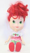 "Strawberry Shortcake large 11"" doll 2008 hasbro TCFC plastic vinyl Scented Toy"