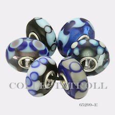 Authentic Trollbeads Sterling Silver  Malawi Kit - 6 Beads 65299 *E*