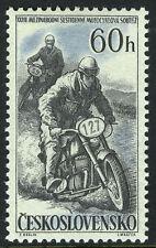 Czechoslovakia 815, MNH. 32nd Intl. Motorcycle Race, 1957
