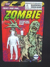Create Your Own ZOMBIE - 4 inch Customizable Figure Blank - BRAIN EXPOSED HEAD