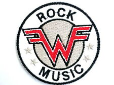"WEEZER Rock Music Embroidered Iron On Patch Badge 2.9""/7.5m"