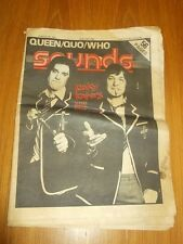 SOUNDS FEBRUARY 28TH 1976 THE KINKS QUEEN STATUS QUO THE WHO DIANA ROSS