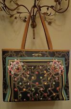 New TOUS camouflage and jewel printed on leather handbag