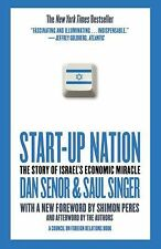 Start-up Nation: The Story of Israel's Economic Miracle by Senor, Dan, Singer,