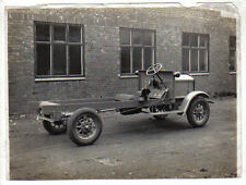 Electric Van Chassis One Ton original early black & white Photograph