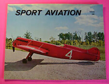 SPORT AVIATION MAGAZINE FEB/1967..ATTENTION JODEL OWNERS AND BUILDERS.