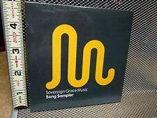 SOVEREIGN GRACE MUSIC song sampler CD praise worship 2008