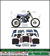 kit adesivi stickers compatibili  wmx 125 1989