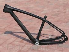 "New Toray Carbon UD Matt 29ER Mountain Bike Frame MTB Bicycle Frame 15.5"" BSA"