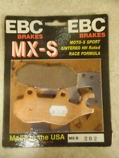 FA202 Ebc Mxs brake pads for Yamaha / Suzuki 125 250 models Oversized sintered
