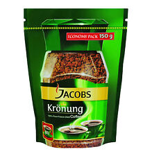 Jacobs Kronung ORIGINAL Instant Coffee -150g POUCH Made in Germany