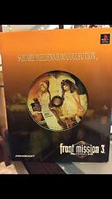 Square Millennium Collection Front Mission 3 PlayStation 1 JP Import US seller